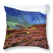 Wicklow Heather Carpet Throw Pillow