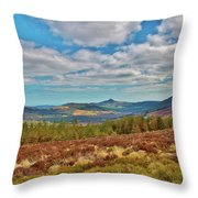 Wicklow Mountains  Throw Pillow