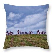 Wide Brown Land - Canberra - Australia Throw Pillow