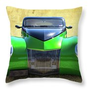 Wide Eyes Throw Pillow
