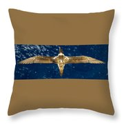 Wide Spread Throw Pillow