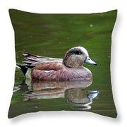 Widgeon Duck Throw Pillow