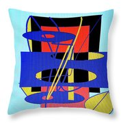 Widget World Throw Pillow