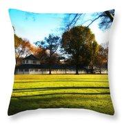Widner Farm - Flourtown Throw Pillow