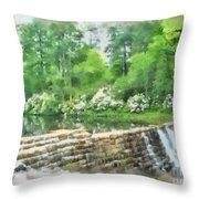 Wigwam Falls Throw Pillow