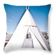 Wigwam Room #2 Throw Pillow