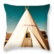 Wigwam Room #3 Throw Pillow