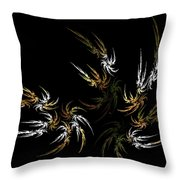 Wild And Free Throw Pillow by Bonnie Bruno