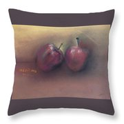 Wild Apples Throw Pillow
