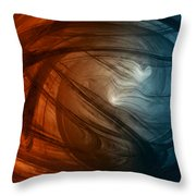 Wild As The Wind Throw Pillow