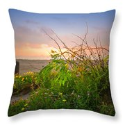 Wild At Sunrise Throw Pillow