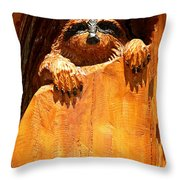 Wild Bandit  Throw Pillow