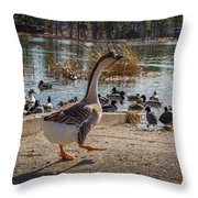 Wild Birds #1 Throw Pillow