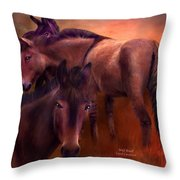 Wild Breed Throw Pillow