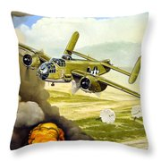 Wild Cargo Throw Pillow