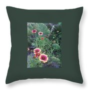 Wild Catus Throw Pillow