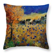 Wild Chicorees 56 Throw Pillow