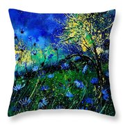 Wild Chocoree Throw Pillow