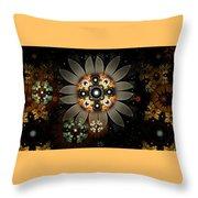 Wild Daisies 2 Throw Pillow