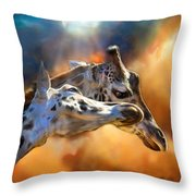 Wild Dreamers Throw Pillow