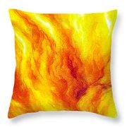 Wild Fire 03 Throw Pillow
