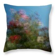 Wild Flowers 1 Throw Pillow
