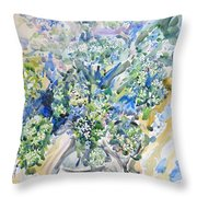 Wild Flowers #2 Throw Pillow