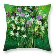 Wild Flowers 450150 Throw Pillow