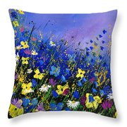 Wild Flowers 560908 Throw Pillow