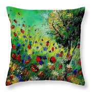 Wild Flowers 670130 Throw Pillow