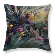 'wild Flowers' Throw Pillow by Michael Lang
