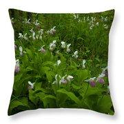 Wild Garden #1 Throw Pillow