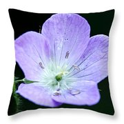 Wild Geranium 2 Throw Pillow