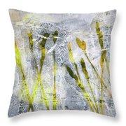 Wild Grass 3 Throw Pillow