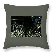 Wild Grass In The Sunlight Throw Pillow