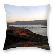 Wild Horse Lookout - Washington Throw Pillow