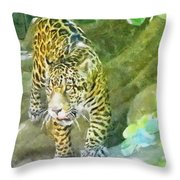 Wild In Spirit Throw Pillow