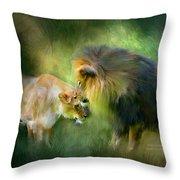 Wild Instinct Throw Pillow