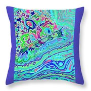 Wild Island 1 And 2 Combined Throw Pillow