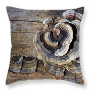 Wild Mushroom Throw Pillow