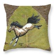 Wild Mustang #3 Throw Pillow