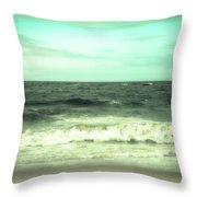 Wild Ocean Throw Pillow