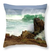 Wild Pacific Two Throw Pillow