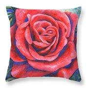 Wild Rose Three Throw Pillow