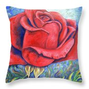 Wild Rose Two Throw Pillow