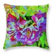 Wild Roses 3 Throw Pillow