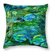 Wild Sargasso Sea Throw Pillow