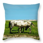 Wild South Dakota Throw Pillow