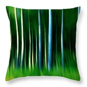 Wild Stripes Throw Pillow