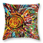 Wild Sunflowers 3 Throw Pillow